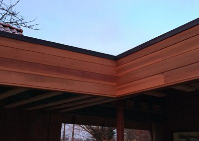 Houten afwerking daken dakwerken Lenaers Limburg
